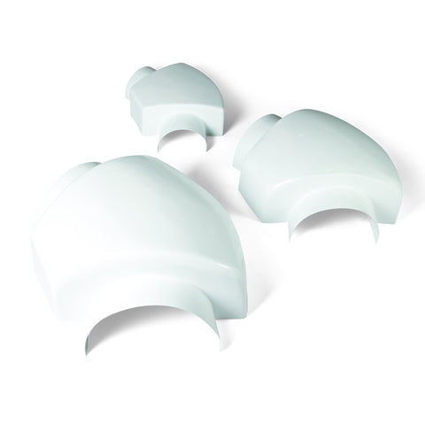 JM | IIG PVC Mechanical Groove Type (MGT) 45° and 90° Elbow Covers with Insulation -  - 1