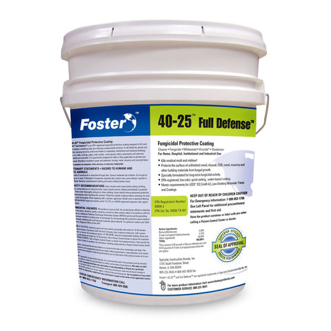 foster-40-25-full-defense-fungicidal-protective-coating-white-5-gallons-image