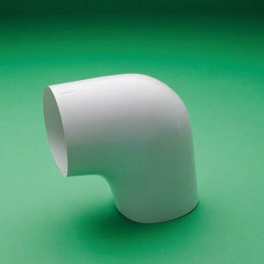 PVC 90° Short Radius Elbow Cover - Insert - White - image