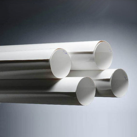 PVC Roll Jacketing w/ Curl - White- image