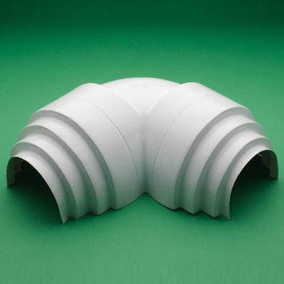 PVC 90° Low Profile Victaulic¨ Elbow Cover (2 Pc.) w/ Insert -White - image