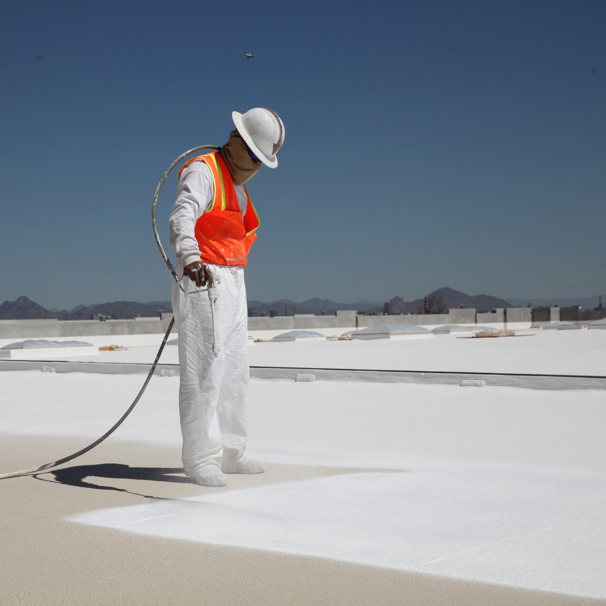 SWD Quik Shield 2110 Silicone Roof Coating Spray