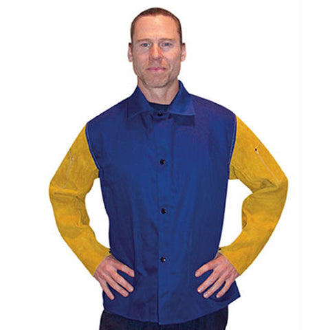 john-tillman-flame-retardant-cotton-jacket-with-leather-sleeves-image
