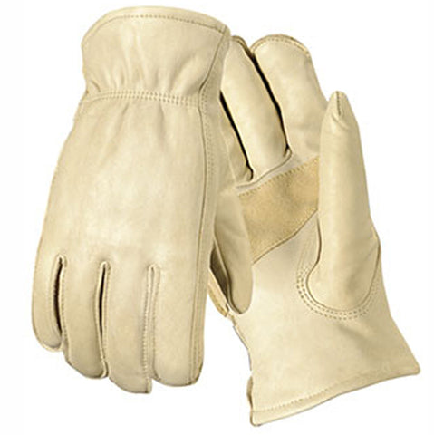 Palomino Grain Cowhide Drivers Gloves, 12/PK -