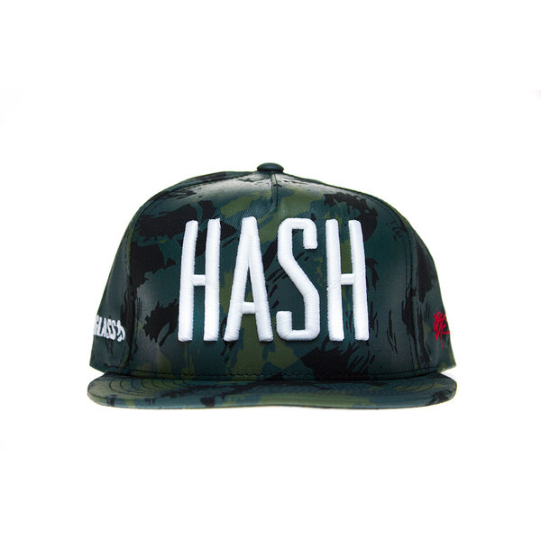 HASH on Frog Camo Cap by SSUR and Hitman