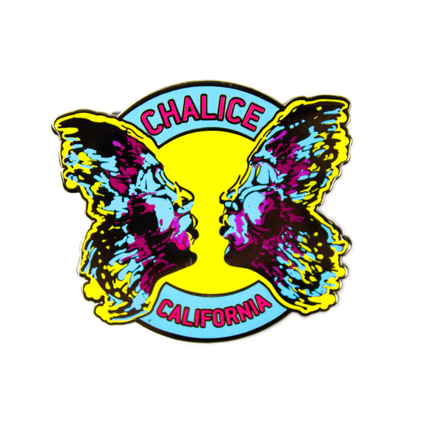 Full Color Chalice California Pin