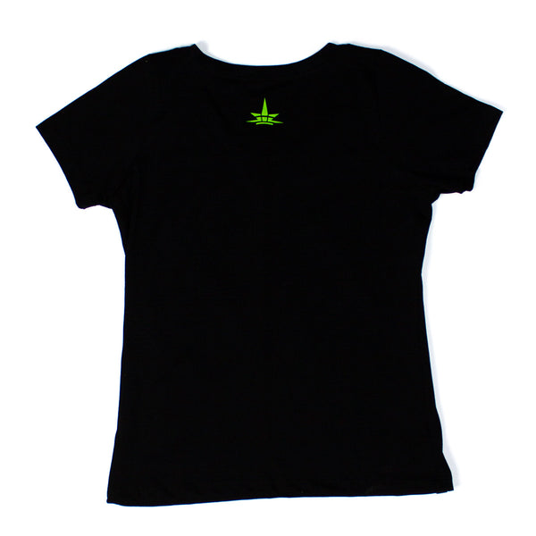 Gorilla Tee Womens - Black