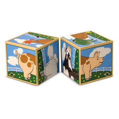 Melissa & Doug – Farm Sound Blocks