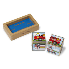 Melissa & Doug – Vehicles Sound Blocks
