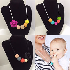 Hello Mom by Anna Barri - Collares Dentición (Teething Necklace)