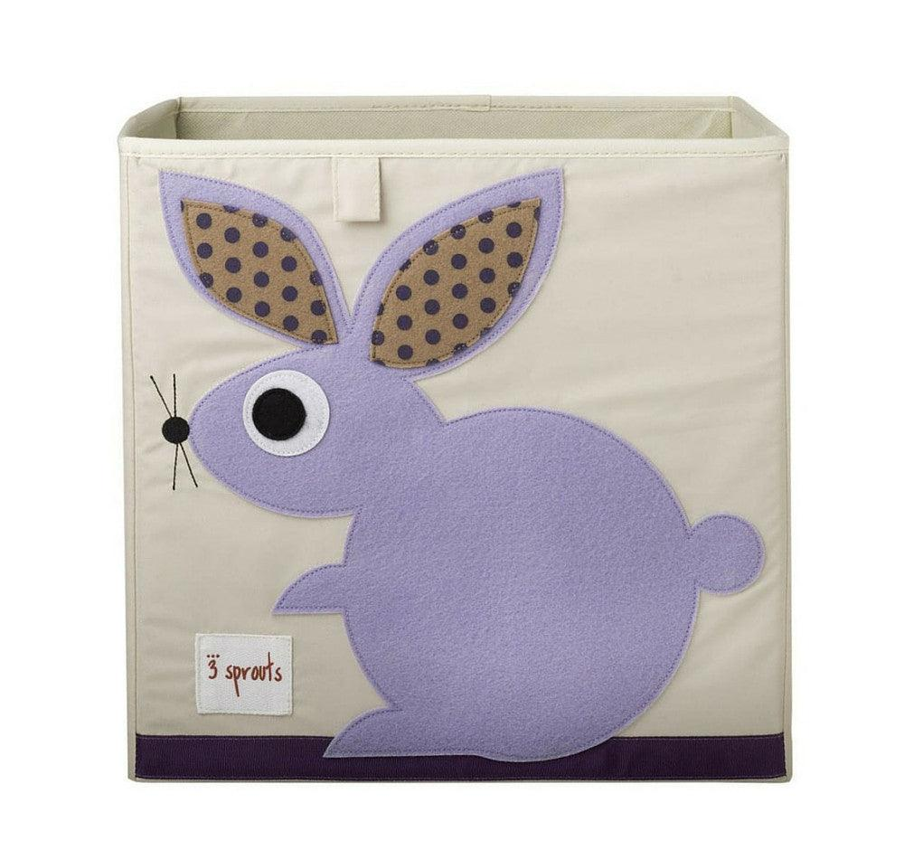 3 Sprouts - Caja Organizadora Purple Rabbit