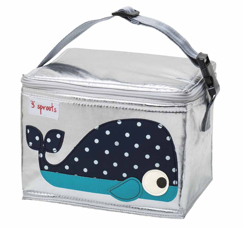 3 Sprouts – Lunch Bag Blue Whale