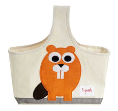 3 Sprouts – Bolsa Organizadora Orange Beaver
