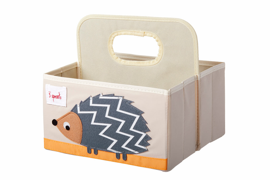 HDLM Kids - 3 Sprouts –  Diaper Caddy Hedgehodge