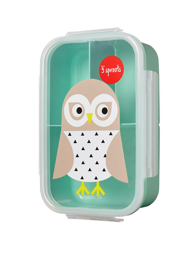 3 Sprouts - Bento Lunch Box Owl