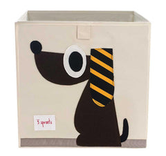 3 Sprouts - Caja Organizadora Brown Dog