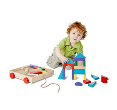 Melissa & Doug – Unit Blocks on Wheels