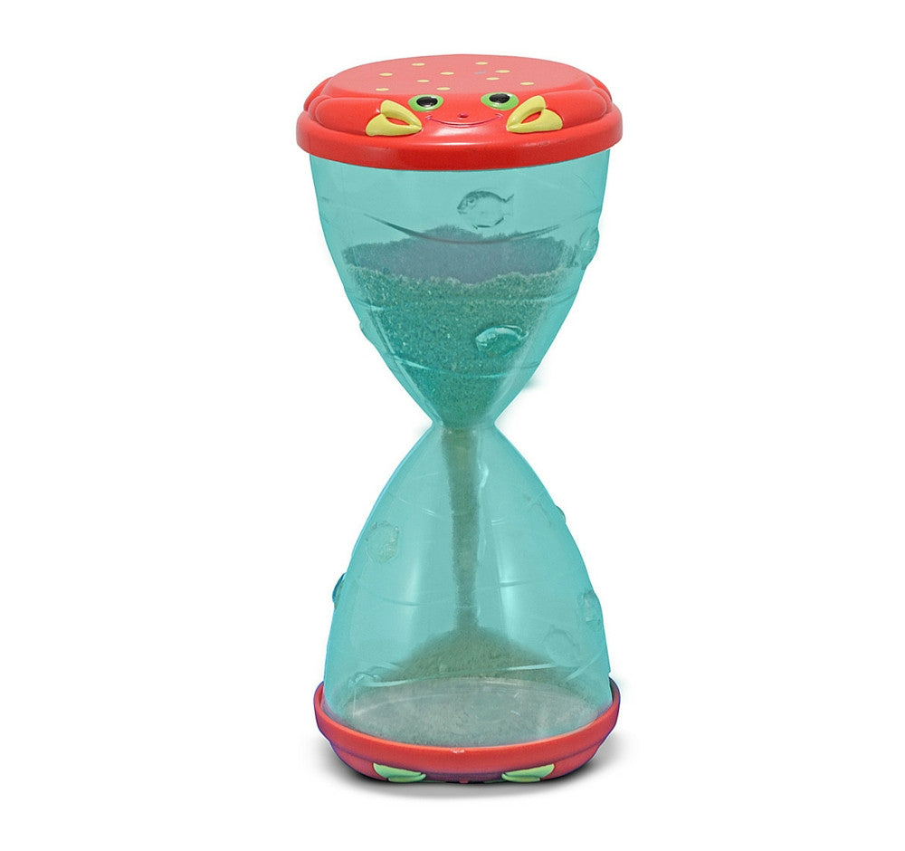 Melissa & Doug - Clicker Crab Hourglass Sifter & Funnel