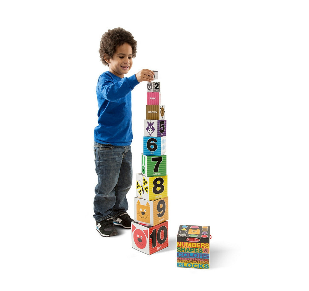 Melissa & Doug – Number Stacking Blocks