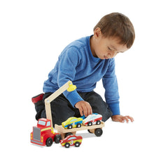 Melissa & Doug – Magnetic Car Loader