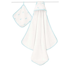 Aden+Anais - Set de Toalla con capucha, Hide and Sea