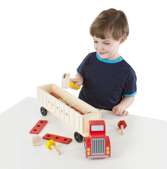 Melissa & Doug – Big Rig Building Truck