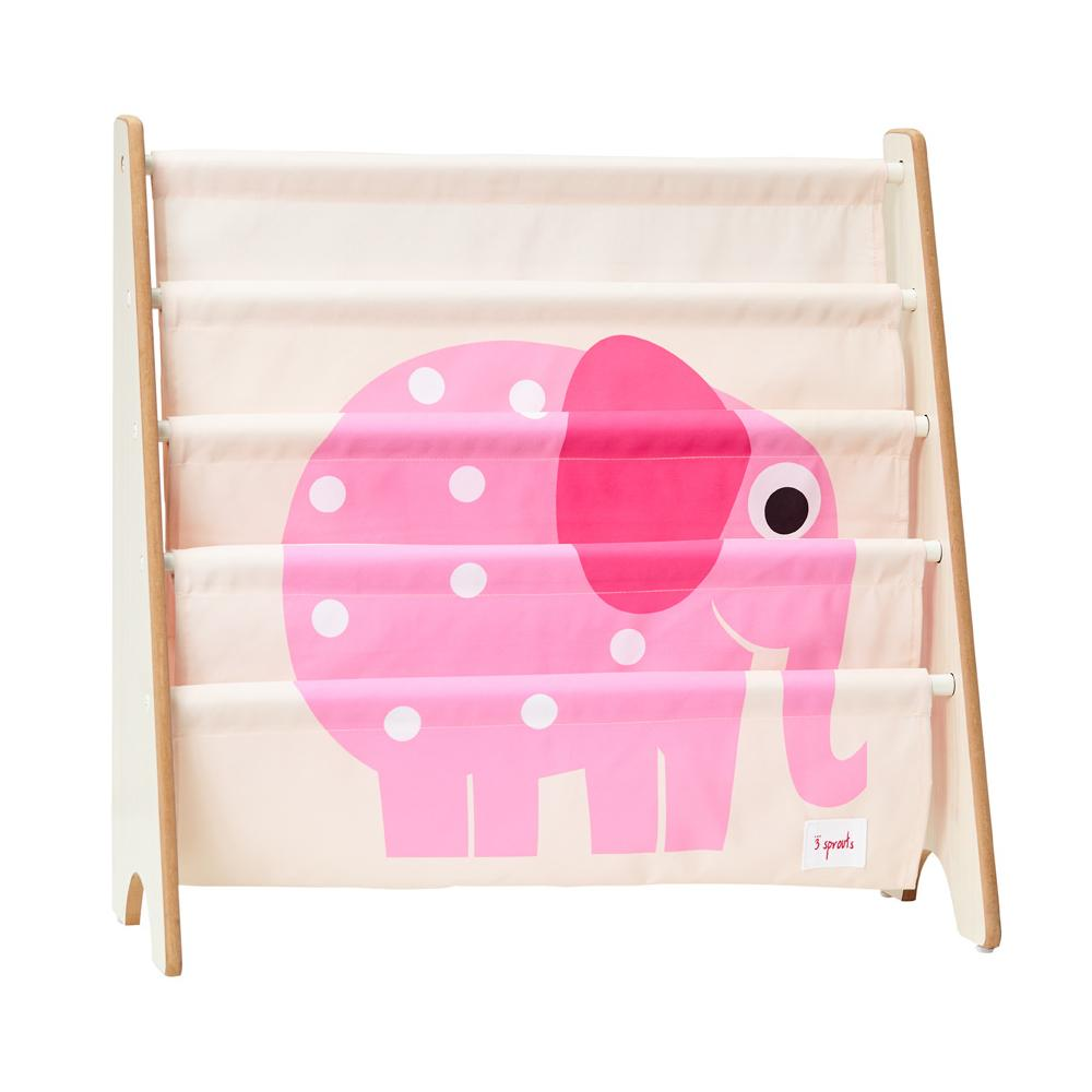 3 Sprouts - Book Rack (estante de libros) Pink Elephant