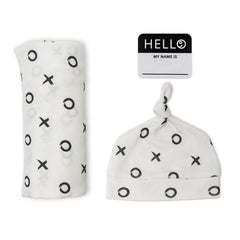 Lulujo - Hello World Hat & Swaddle