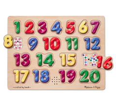 Melissa & Doug – Numbers Sound Puzzle