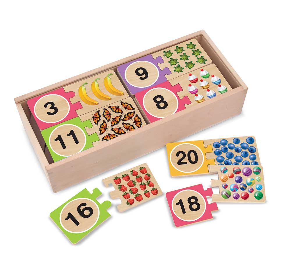 Melissa & Doug – Self Correcting Number Puzzles