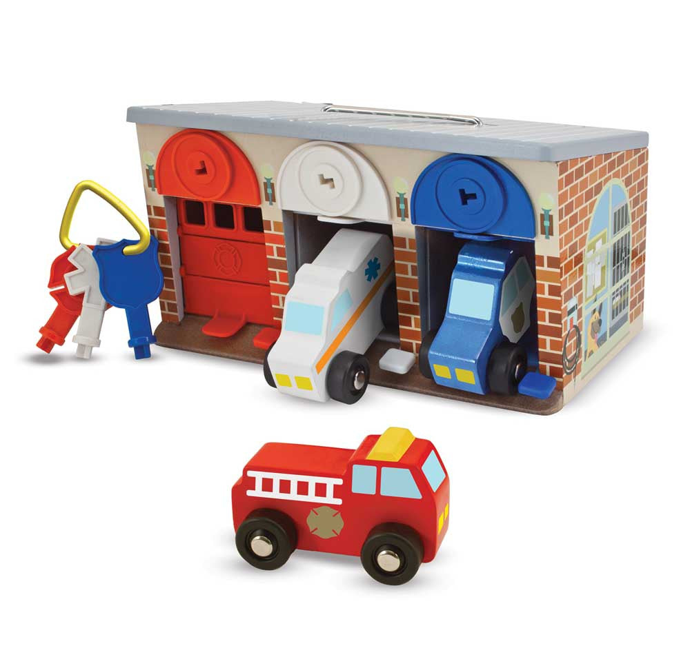 Melissa & Doug – Lock & Roll Truck Garage