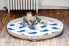 3 Sprouts - Play Mat Organizador Hedgehog