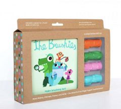 The Brushies - Gift Set Libro y Cepillos dental