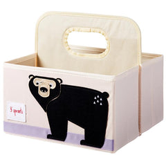 3 Sprouts –  Diaper Caddy Bear