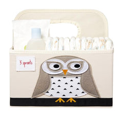 3 Sprouts –  Diaper Caddy Owl