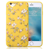 Loving Heart Phone Cases For Apple iPhone 7 6 6s Plus 5 5s SE Candy Color Flower Soft TPU Back Cover Case Capa Coque Fundas