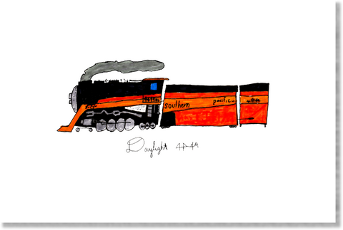 Daylight Limited Steam Engine print