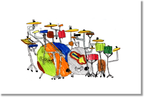 Epic Drums print