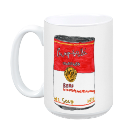 Can of Beef Soup mug