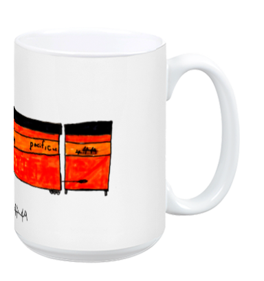 Daylight Limited Steam Engine mug