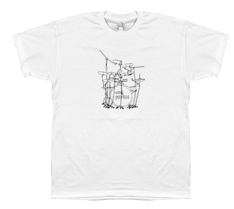 Police Drums t-shirt