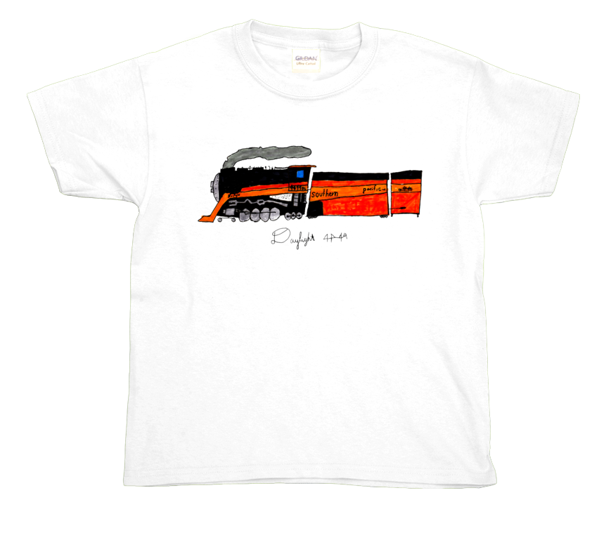 Daylight Limited Steam Engine youth t-shirt