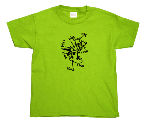 Rooster youth t-shirt