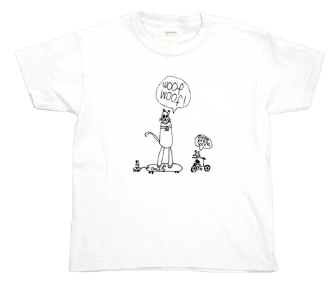 Skateboarding Dog and Cats youth t-shirt