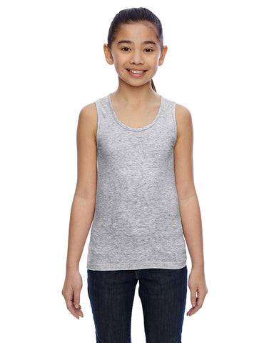 Embroidered LAT Girls Jersey Tank
