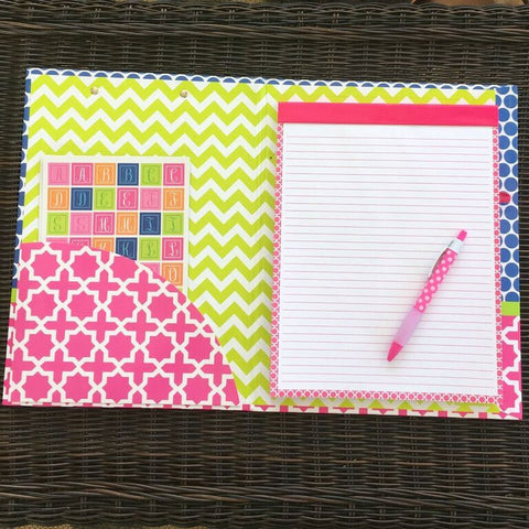 Personalized Clipboard Folder - Choose From TWO Designs