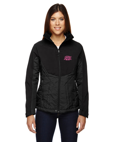 Embroidered North End Innovated Insulated Hybrid Soft Shell Jacket