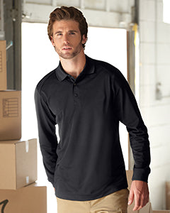 Performance Long-Sleeve Polo