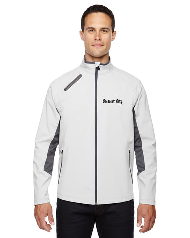North End Three-Layer Light Bonded Soft Shell Jacket