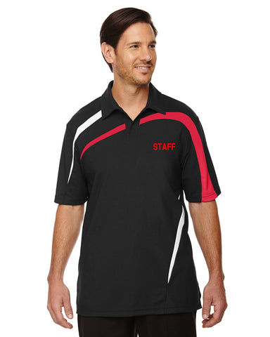 North End Impact Colorblock Performance Polo